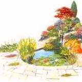 водоем в саду