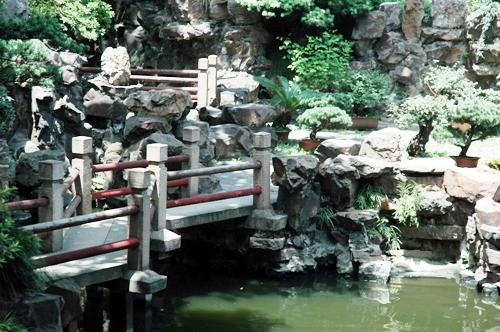 мостик - ландшафтный дизайн фото