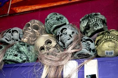 череп - поделки на halloween