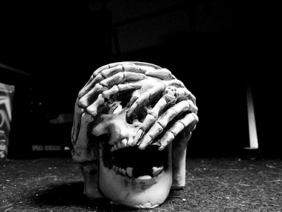 череп поделки на halloween