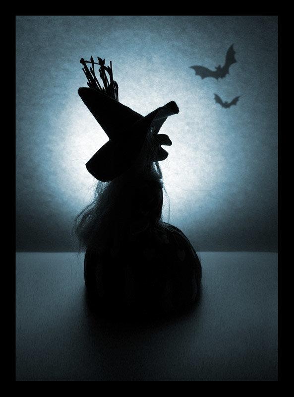 Ведьма поделки для Halloween