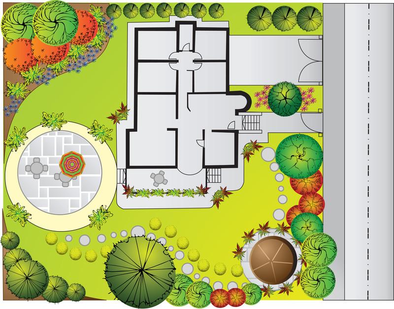 С чего начать ландшафтный дизайн участка