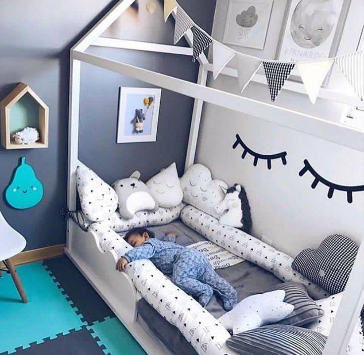 Стильная детская комната и стильная кроватка