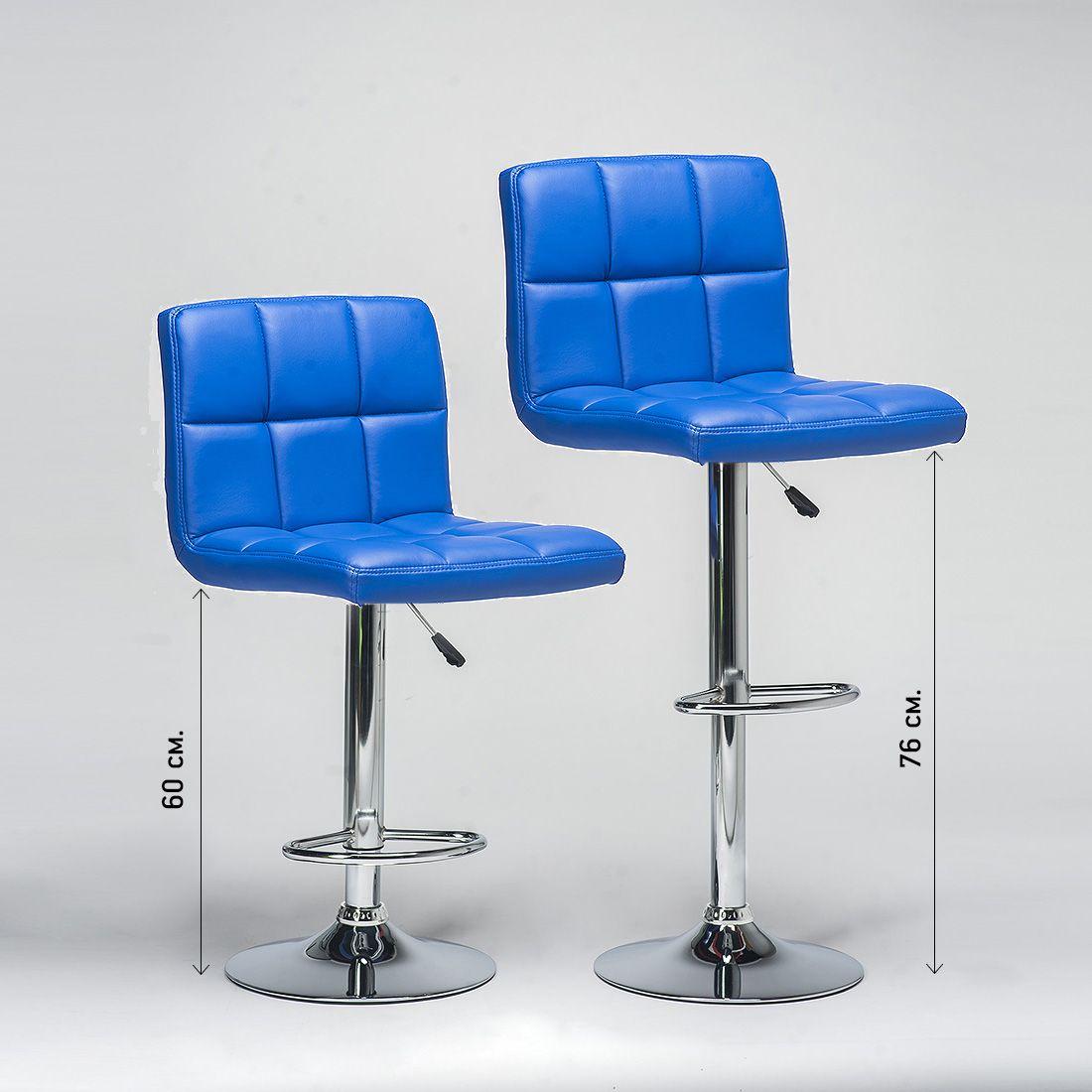 Полубарные мягкие стулья