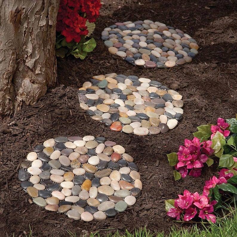 виды камней для декорирования сада