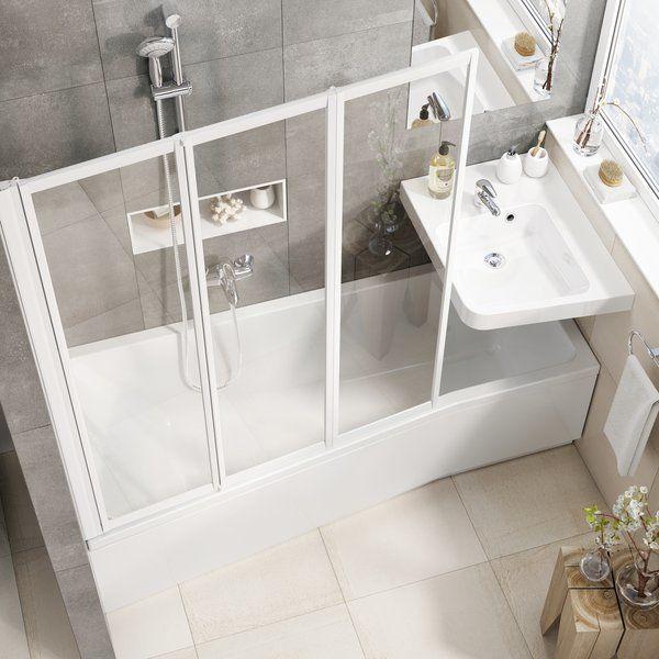 Акриловая ванна BeHappy II 150х75 L