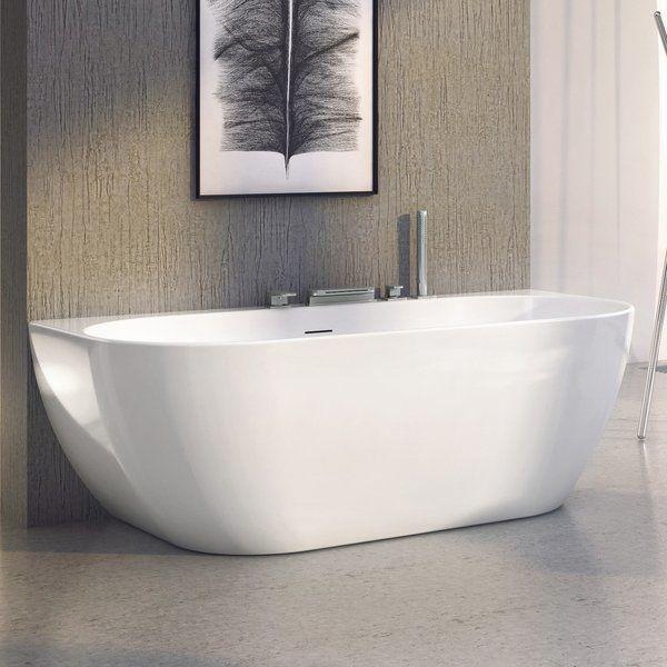 Акриловая отдельностоящая ванна Freedom W 1660х800