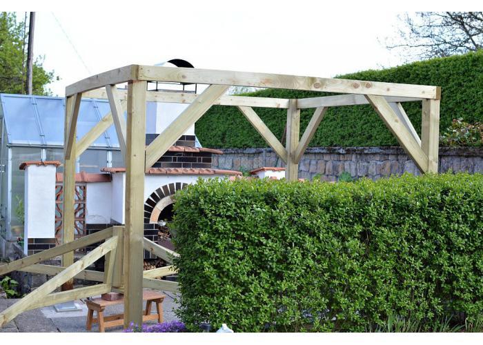 Деревянная садовая беседка: как ее построить самостоятельно