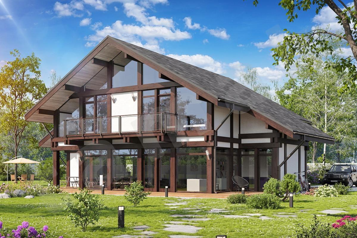 современное строительство домов картинки модель
